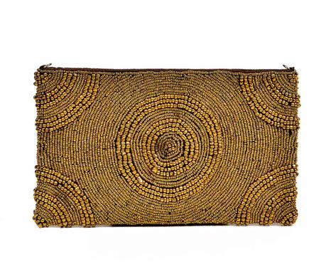 Listová kabelka Gold Round