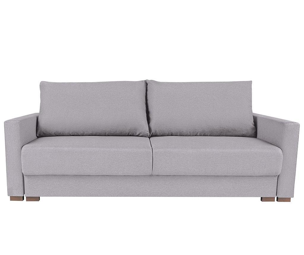 Canapea extensibila 3 locuri Giovanni Silver