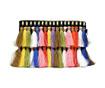 Geanta plic Tassles Multicolor