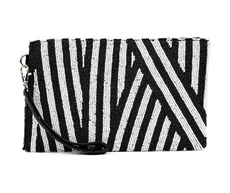 Clutch torbica Zebra