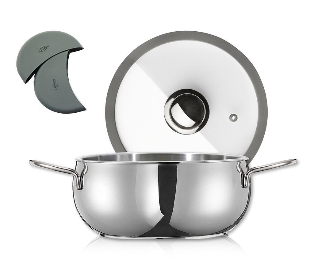 Posuda za kuhanje s poklopcem Premium Bryn 5 L