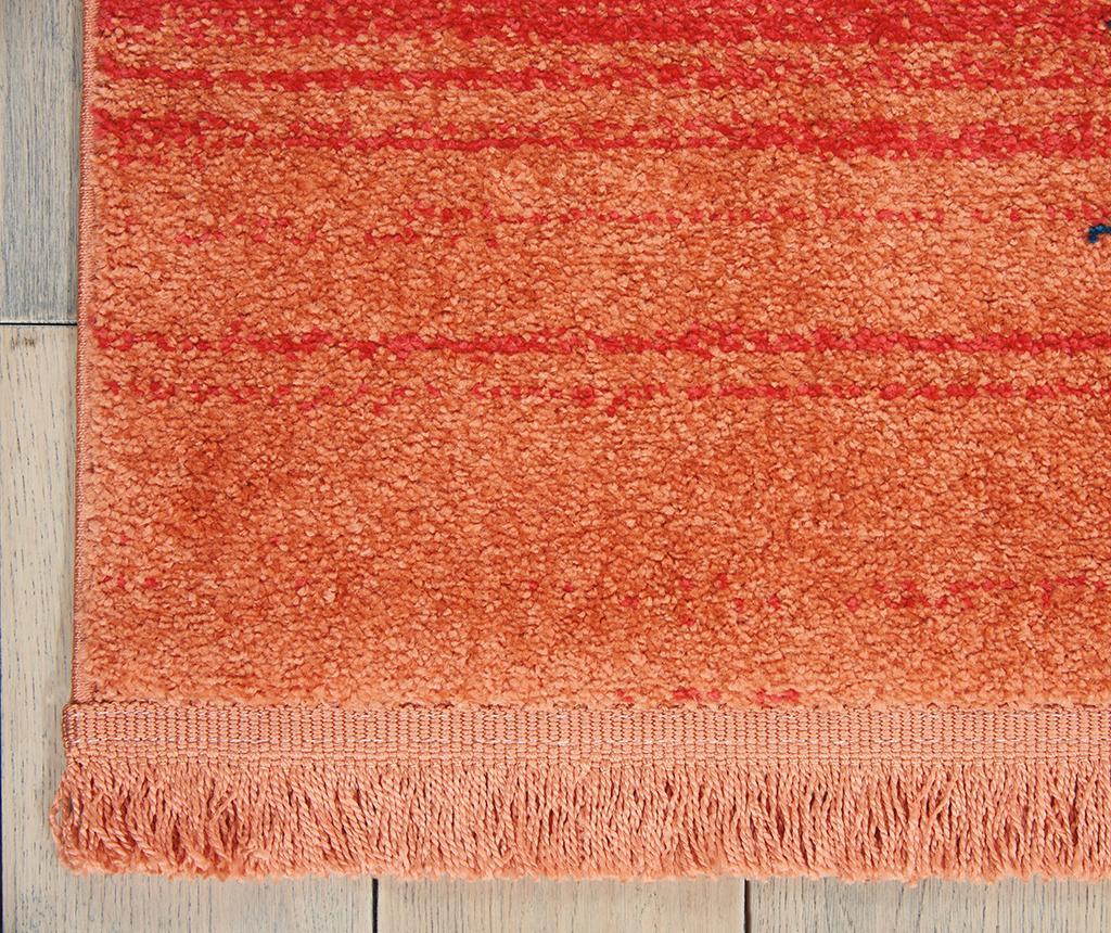 Covor Navajo Seven Red Runner 66x130 cm