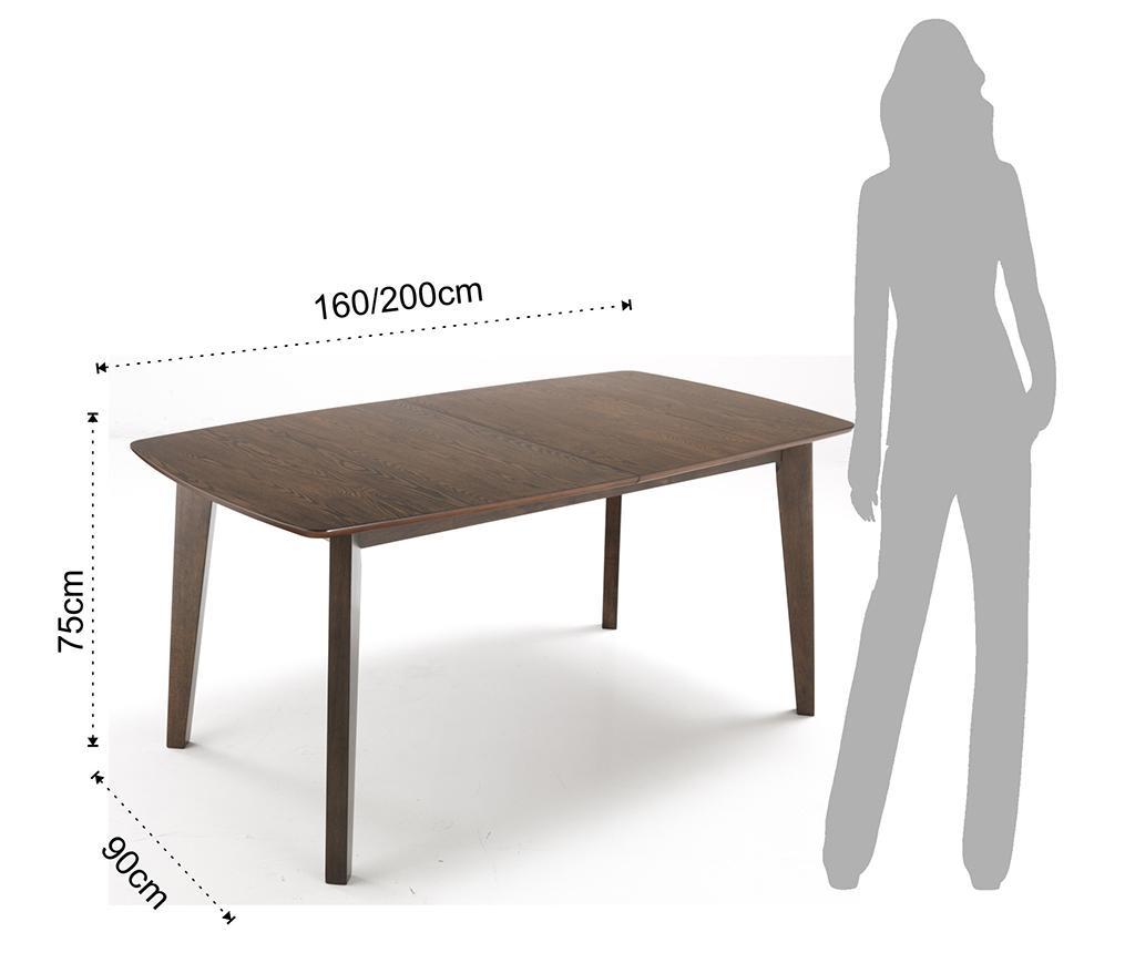 Raztegljiva miza Kyra