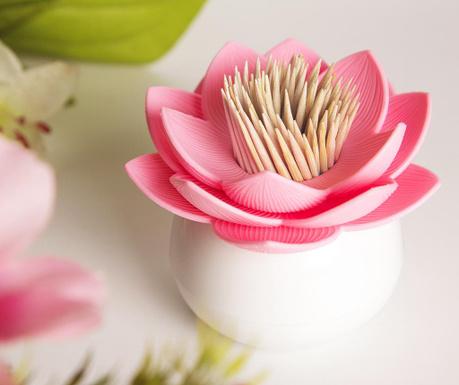 Lotus White Pink Fogvájó tartó