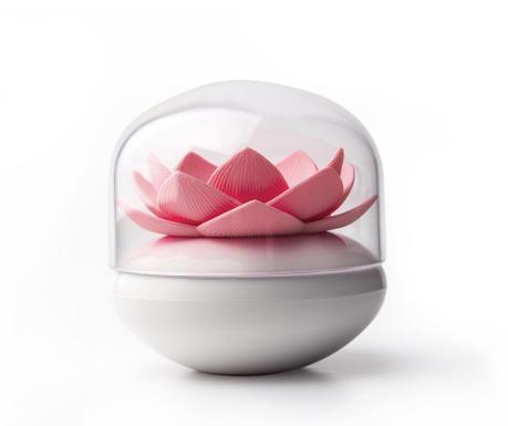 Lotus White Pink Fültisztító pálcika tartó