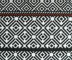 Perna decorativa Callista Black White 45x45 cm