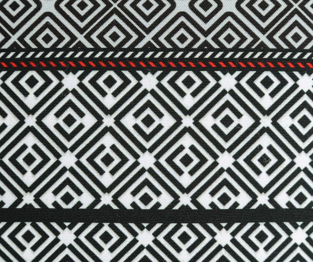 Callista Black White Díszpárna 45x45 cm