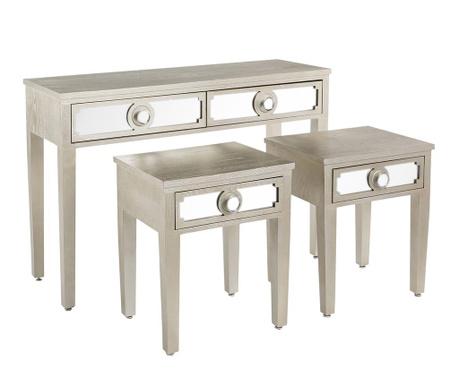 Valens Konzol és 2 db asztalka