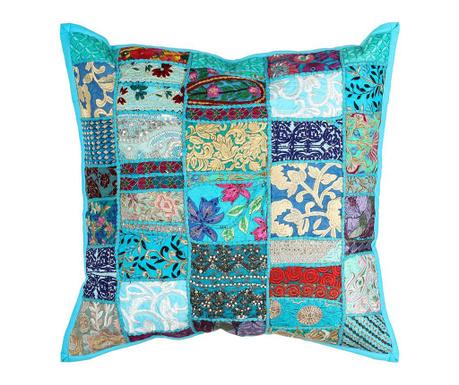 Poduszka dekoracyjna Ethnic Turquoise 60x60 cm