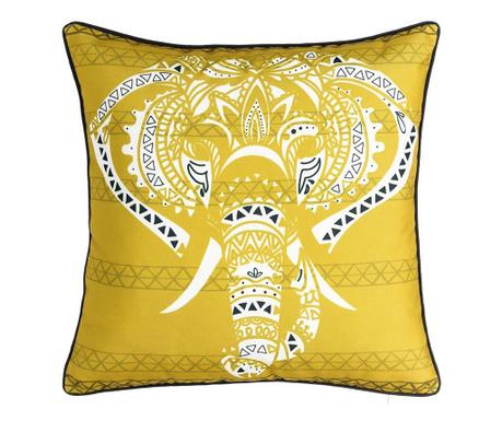 Dekorační polštář Elephant Yellow 45x45 cm