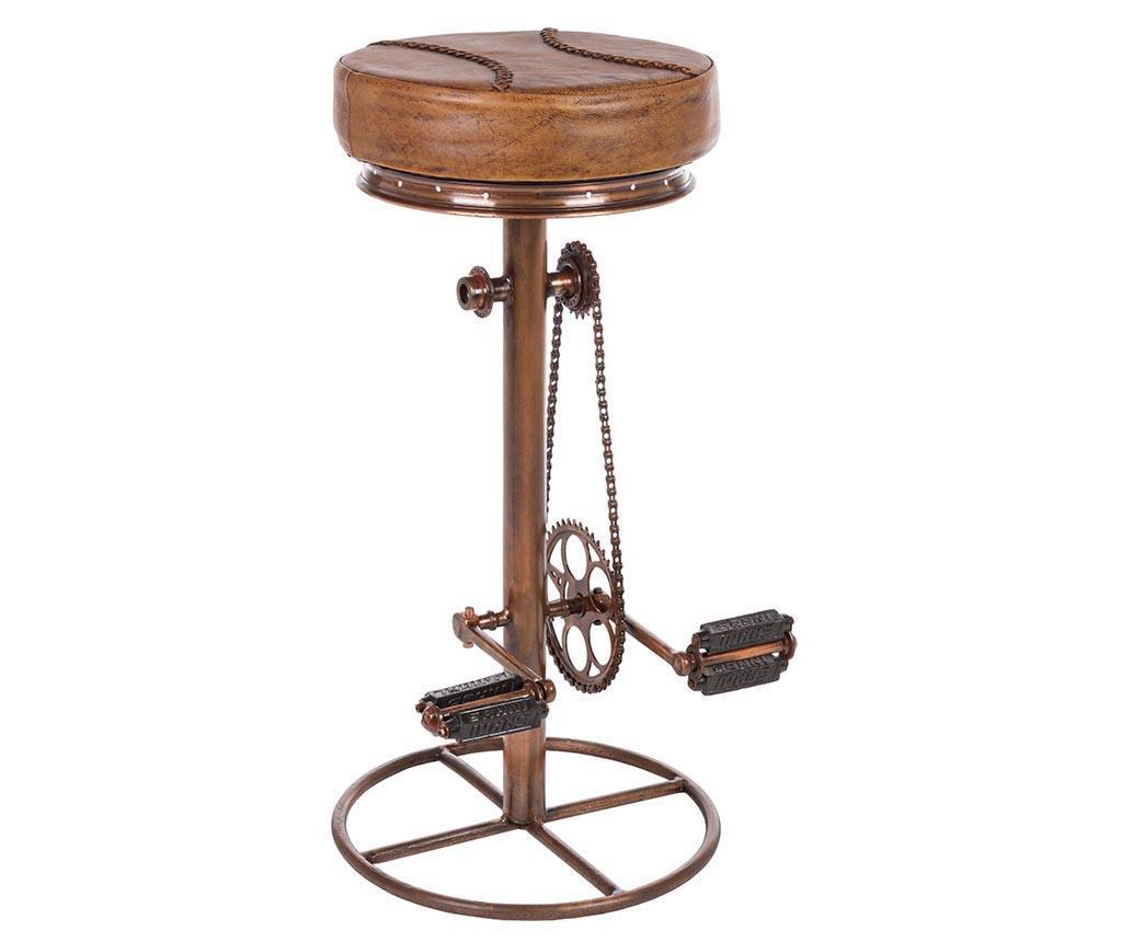 Barová židle Cycle Light Brown