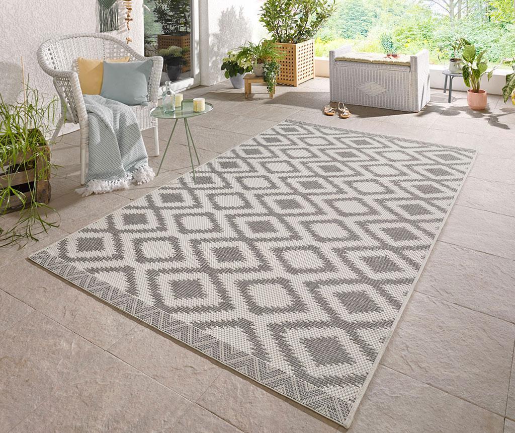 Tepih za vanjski prostor Botany Rustic Grey 140x200 cm