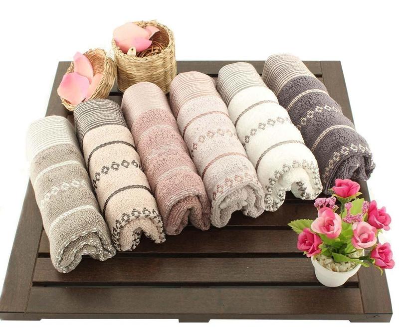Set 6 kupaonskih ručnika Autumn 30x50 cm