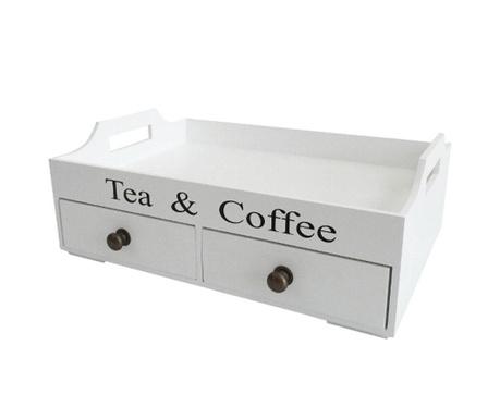 Tea & Coffee Szervírozó tálca
