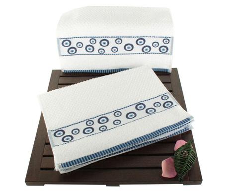 Zestaw 6 ręczników kąpielowych Anneliese 30x50 cm
