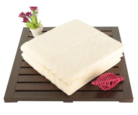 Persephone Cream 2 db Fürdőszobai törölköző 50x90 cm