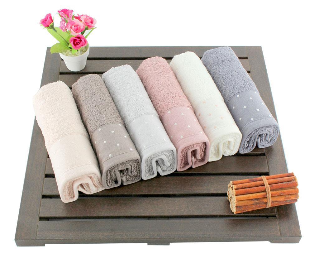 Set 6 kupaonskih ručnika Pastel Dots 30x50 cm