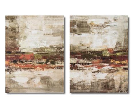 Set 2 tablouri Fedor 80x100 cm