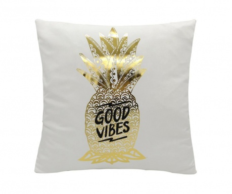 Poduszka dekoracyjna Good Vibes 45x45 cm