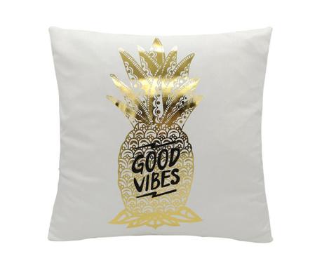 Perna decorativa Good Vibes 45x45 cm