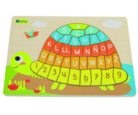 Joc tip puzzle 37 piese Turtle