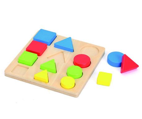Gra edukacyjna 13 elementów Geo Shapes