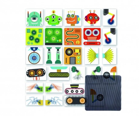 Jucarie tip puzzle 27 piese Robot