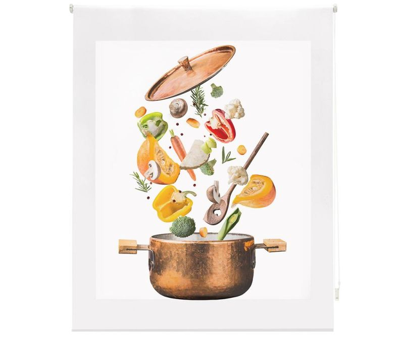 Rolo zastor Sliced Vegetables 100x250 cm