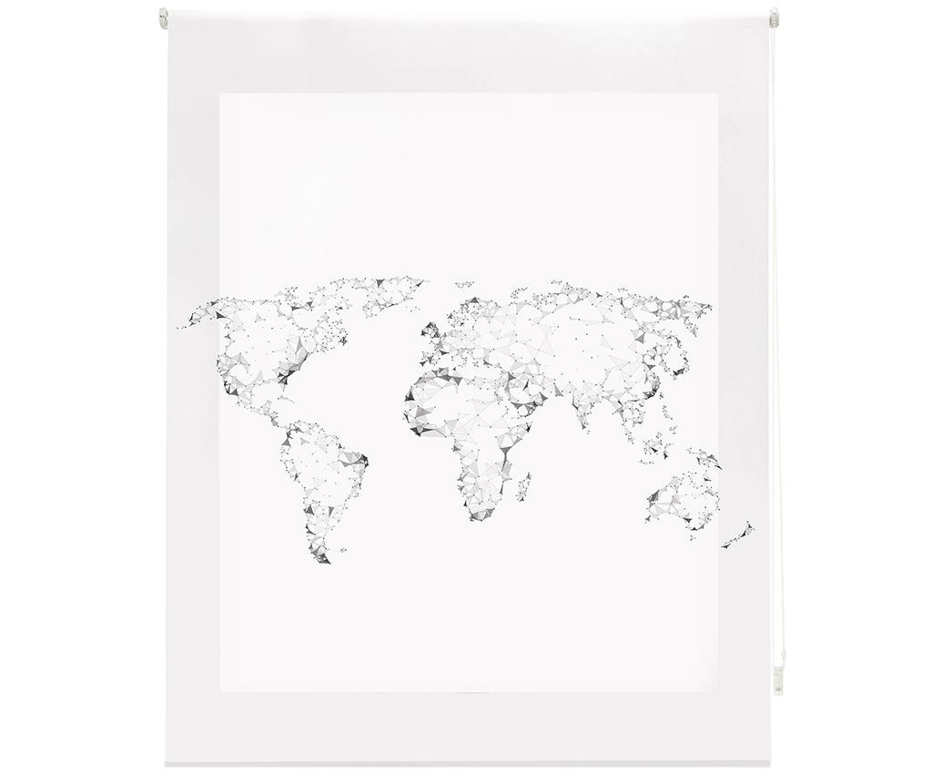 World Map Roletta 160x250 cm