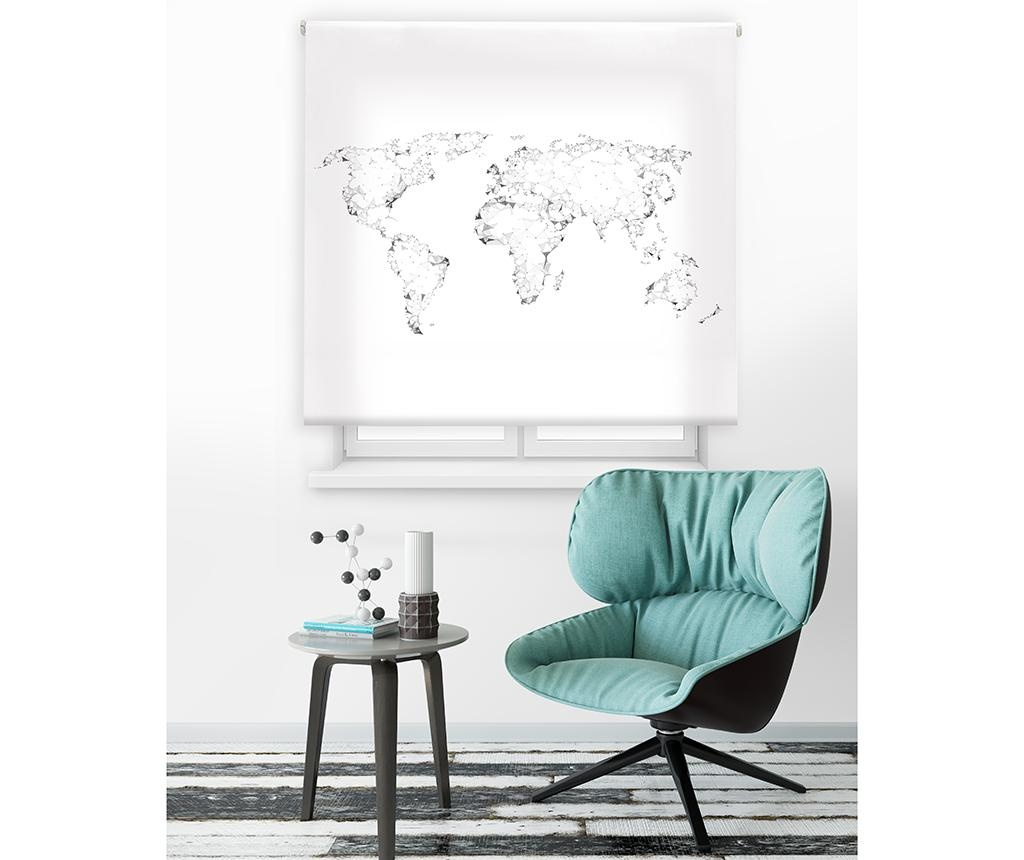 World Map Roletta 180x250 cm