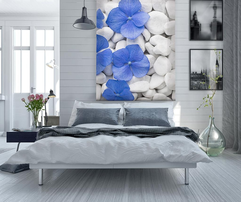 Jaluzea tip rulou Pebbles and Flowers 100x250 cm