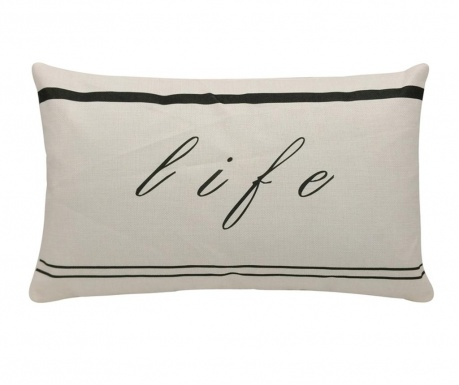 Dekoračný vankúš Life 30x50 cm