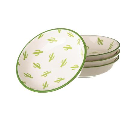 Сервиз 4 чинийки Cactus