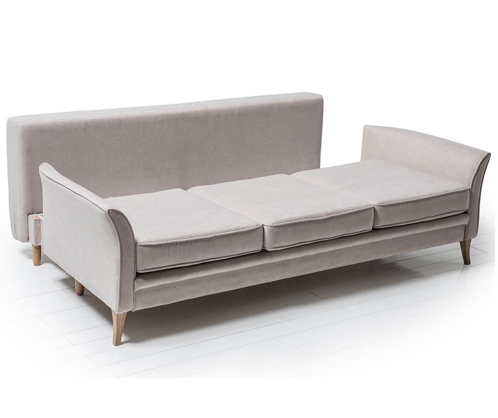 Canapea extensibila 3 locuri Juliett Cosmic Cream