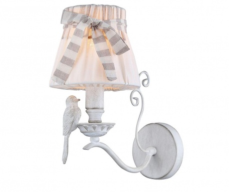 Bird White Fali lámpa
