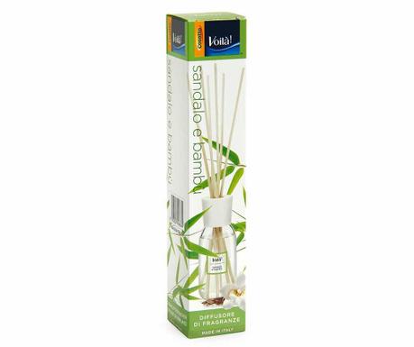 Difuzér esenciálních olejů a tyčinky Renata Sandalwood and Bamboo 100 ml