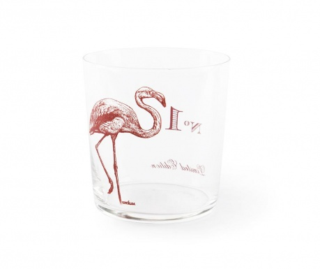 Pahar Flore et Faune Flamingo 370 ml