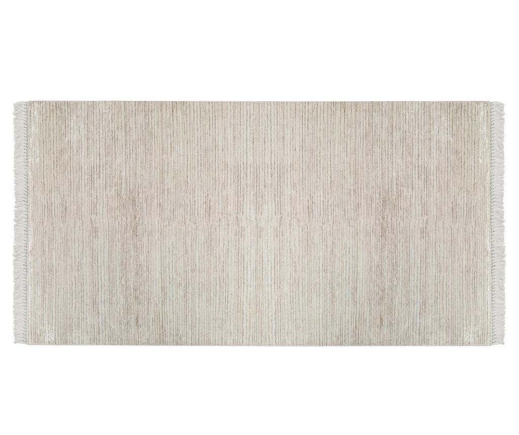 Covor tip pres Deri Brown 80x200 cm