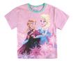 Set tricou si pantaloni scurti copii Frozen Heart 6 ani