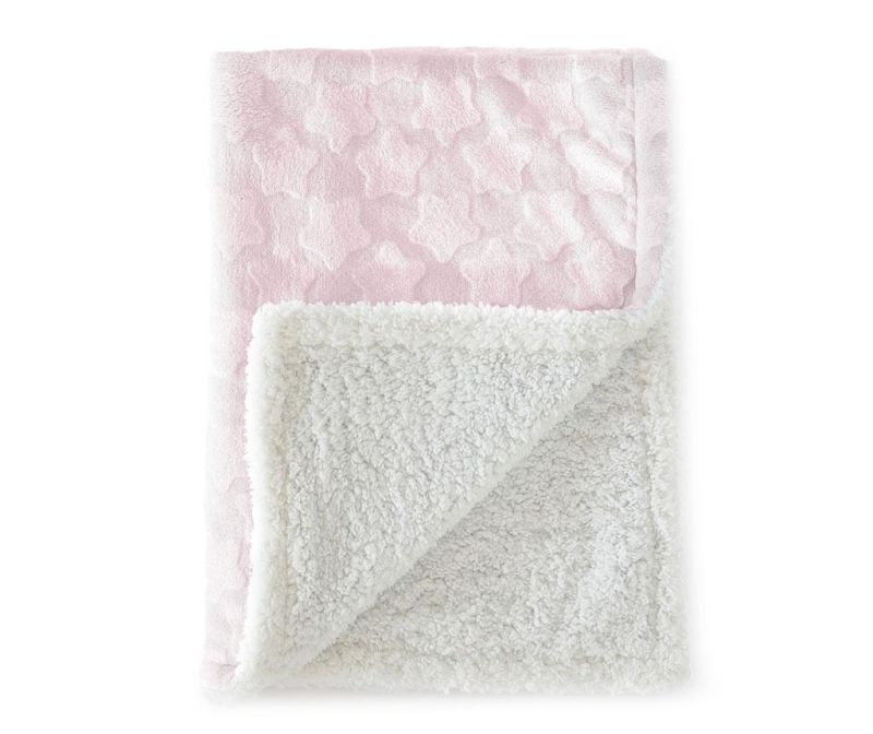 Pled Estrellas Pink 80x110 cm