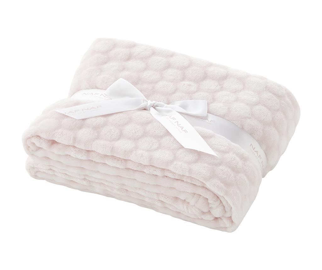 Pokrivač Liso Pink 80x110 cm