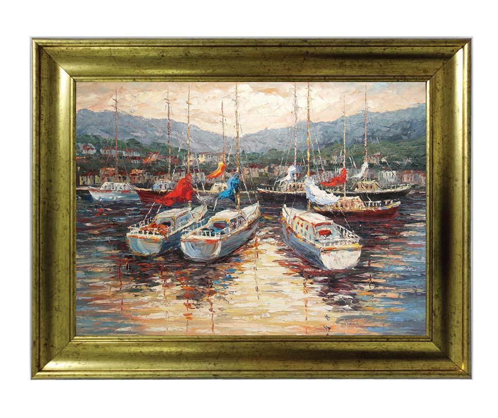 Boats Kép 50x70 cm