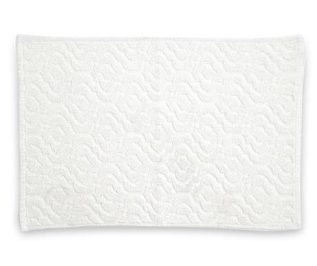 Килим за баня Quinn White 50x80 см