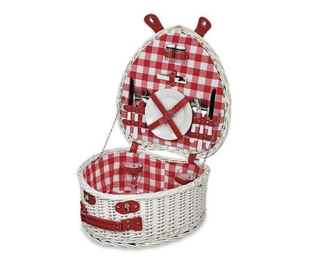 Piknik košara z opremo za 2 osebi Heart