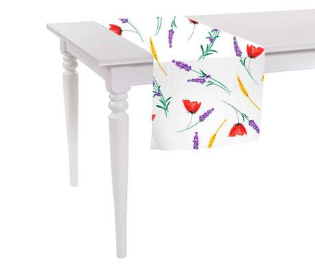 Sunny Flowers Asztali futó 40x140 cm