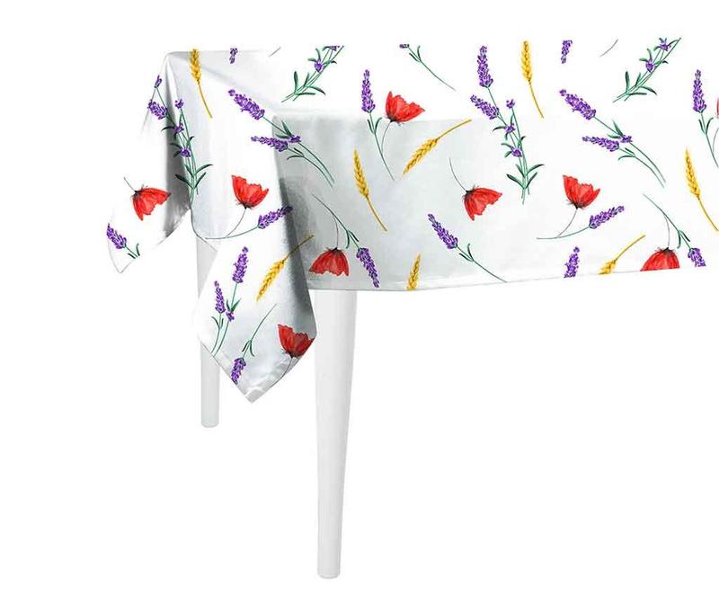 Fata de masa Sunny Flowers 140x140 cm