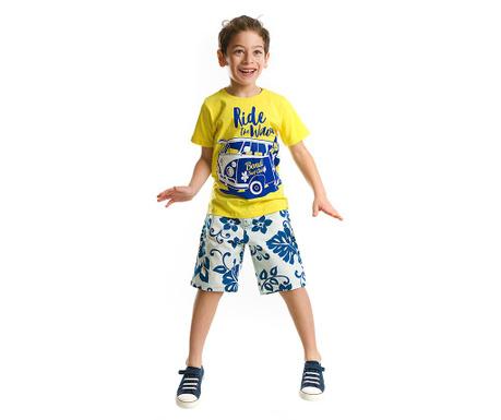 Set tricou si pantaloni scurti pentru copii Surf Time