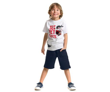 Set tricou si pantaloni scurti pentru copii Pocket Pirate