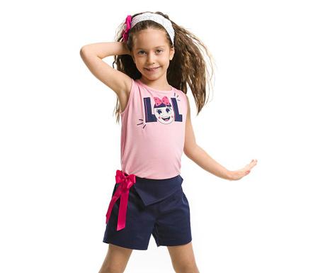 Set maiou si pantaloni scurti pentru copii Lolla
