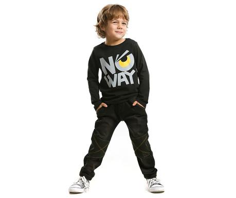 Set bluza si pantaloni pentru copii No Way